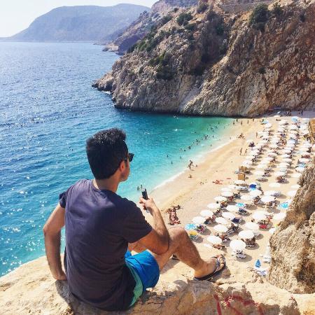 Kaputaş Plajı - Picture of Kaputas Beach, Antalya ...