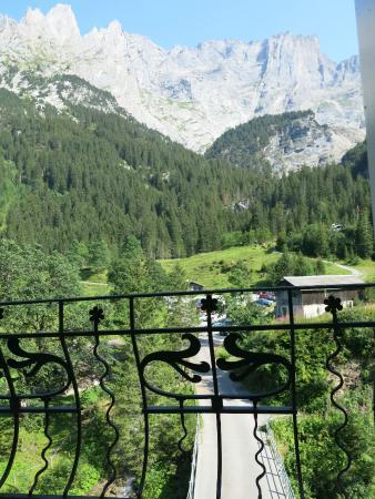 Rosenlaui Hotel: Blick vom Balkon