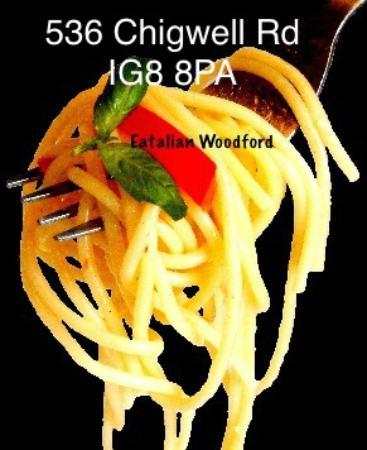 Eatalian Woodford: Eatalian`s spaghetti napoli