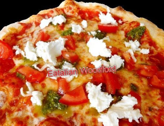 Eatalian Woodford: Pizza Sorrento @ Eatalian