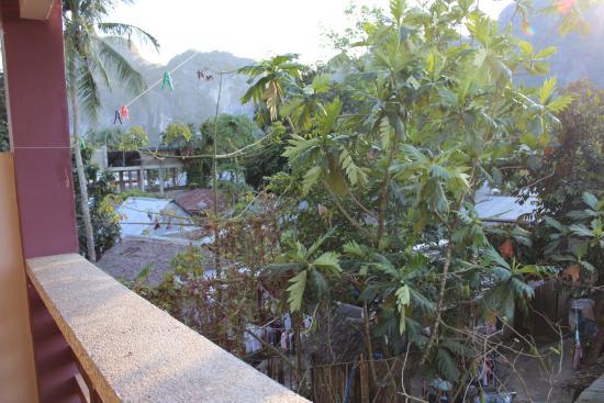 Silverise Pension: Вид с балкона