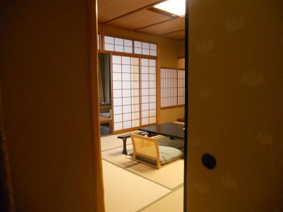 Stanza giapponese fotograf a de miyajima grand hotel for Stanza giapponese