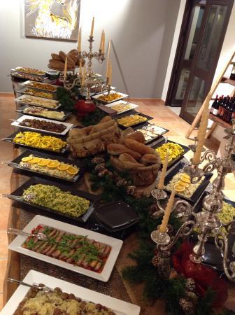 Collesano, Itálie: Portate deliziose
