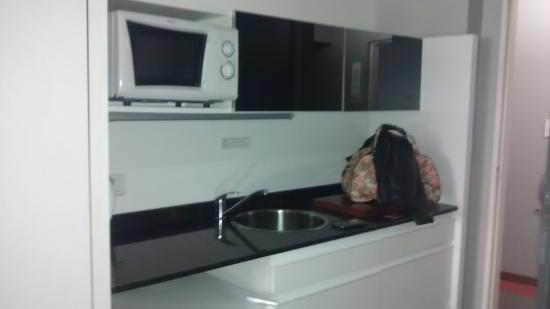 Monserrat Apart Hotel: Habitación estándar.
