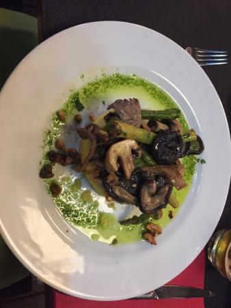 Essencia Restaurante Vegetariano: Great food