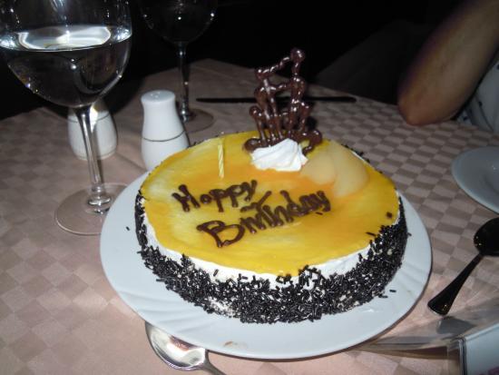 Ocean Varadero El Patriarca Birthday Cake