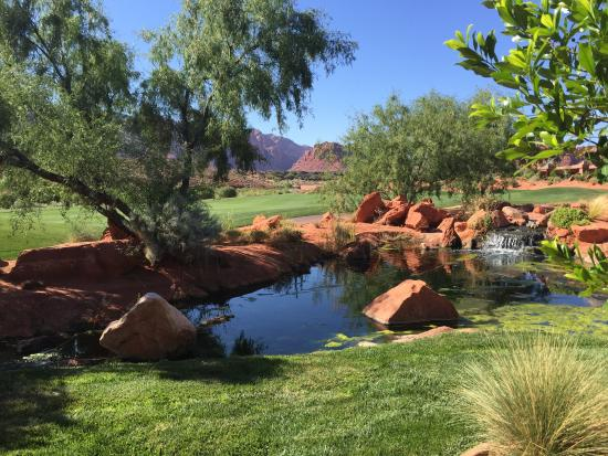 The Inn at Entrada: The view on our back patio
