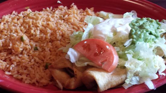 Don Patron Mexican Grill: beef chimichangas