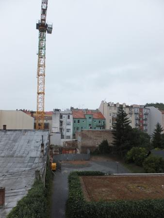 A-Austerlitz Hotel : View from room 38