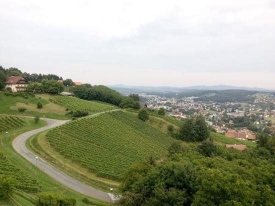 Burg Hotel: Breathtaking view