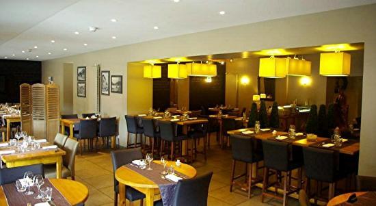 Hotel Burnichon: vue de la salle à manger