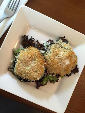 The Coffee House Cafe & Bistro: mushrooms with topping