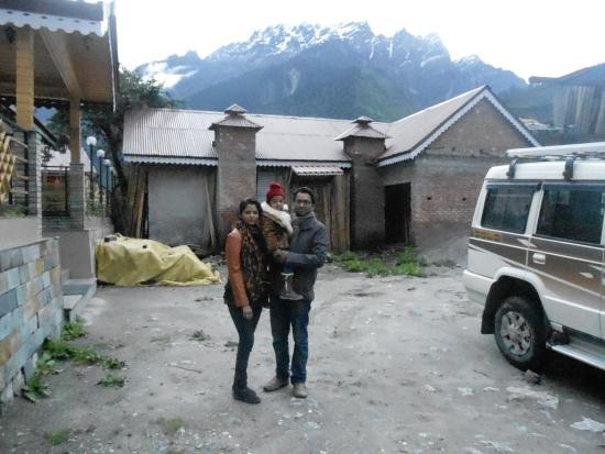 Himalayan Residency: the hotel compound