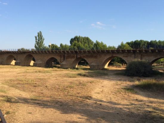 photo5.jpg: fotografía de Puente sobre el río Esla, Mansilla de las Mulas -  Tripadvisor
