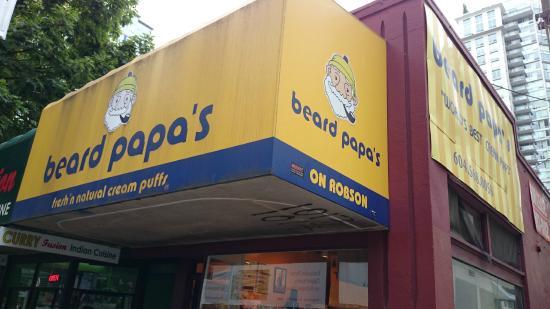 Beard Papa's Cream Puffs