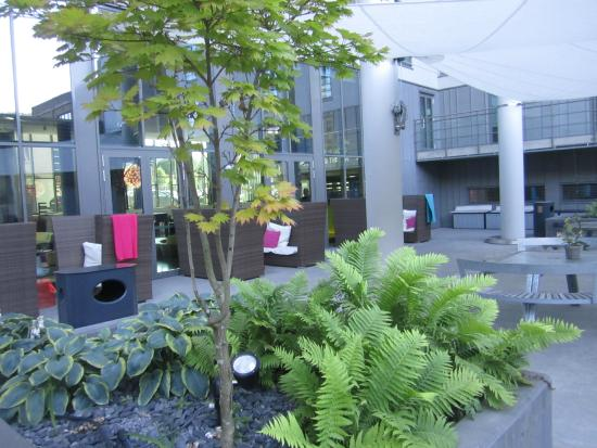 Comfort Hotel Union Brygge: Внутренний сад отдыха