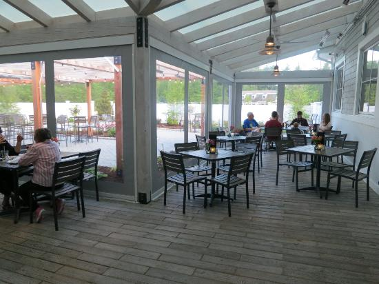 Atlantic Grill Rye Nh Covered Patio