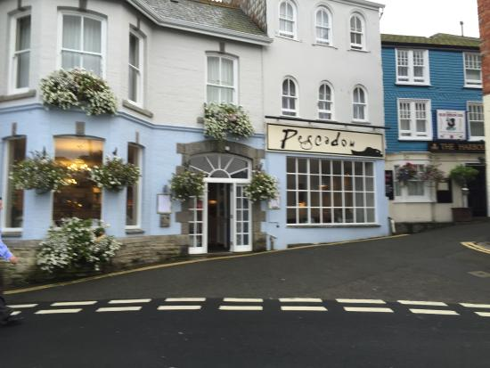 Breakfast Round The Corner Picture Of The Old Custom House Padstow Tripadvisor