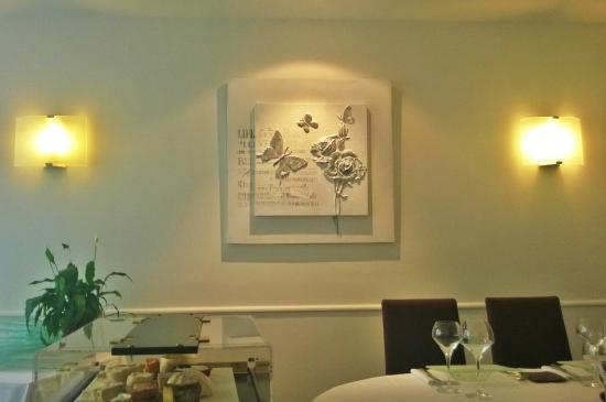 La Poularde : Un détail du décor du 3ème espace salle à manger