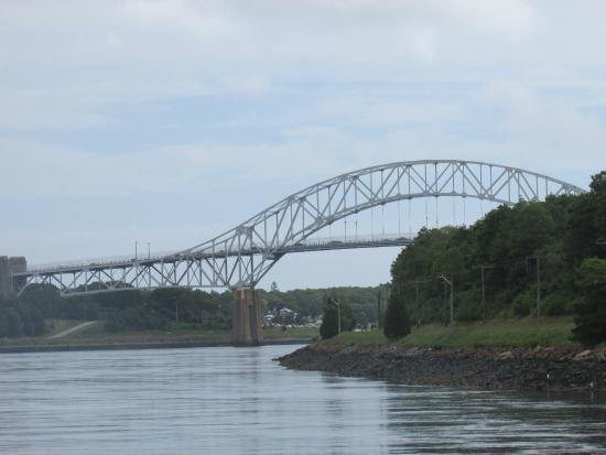 Railroad Bridge And The Bourne Bridge Picture Of Cape