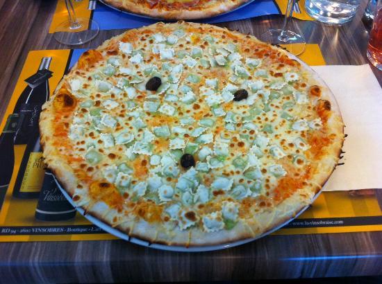Max Pizza : Pizza avec les ravioles