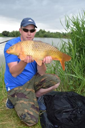 Chilton Trinity, UK: One of the carp caught