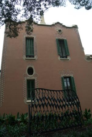 Gaudi House Museum: exterior
