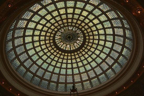 Chicago Cultural Center : Tiffany's Coupola