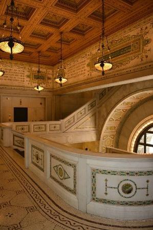 Chicago Cultural Center : Escaliers