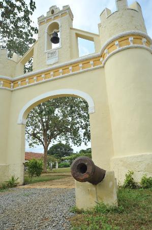Principe, Sao Tome và Principe: Roca Belo Monte Hotel entrance