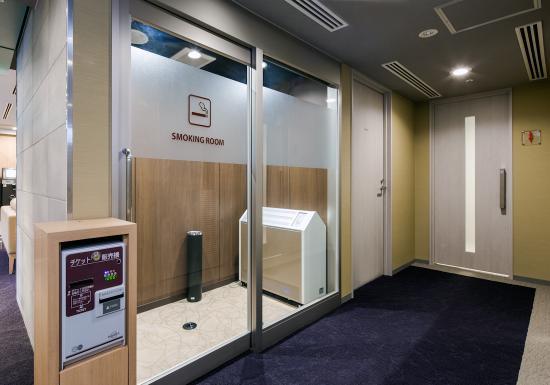Daiwa Roynet Hotel Tokyo-Osaki: 喫煙エリア