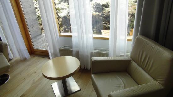 Silica Hotel: Вид на балкон