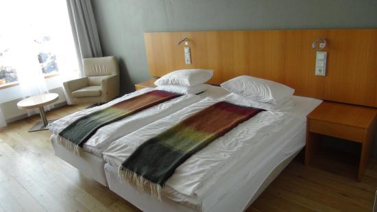 Silica Hotel: Кровать просто супер!
