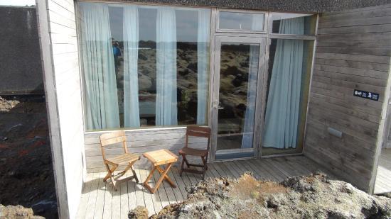 Silica Hotel: Балкончик