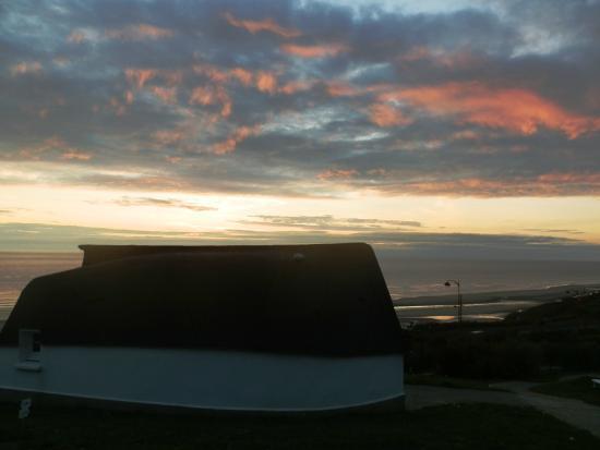 Equihen-Plage, Francia: Une vue sur la mer très agréable et dont on ne se lasse pas