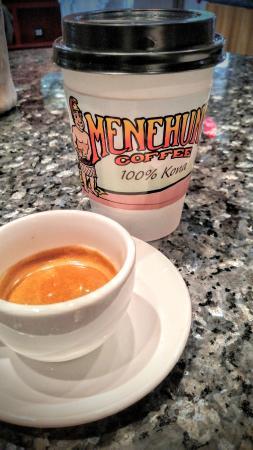 Menehune Coffee Company: Menehune Coffee espresso
