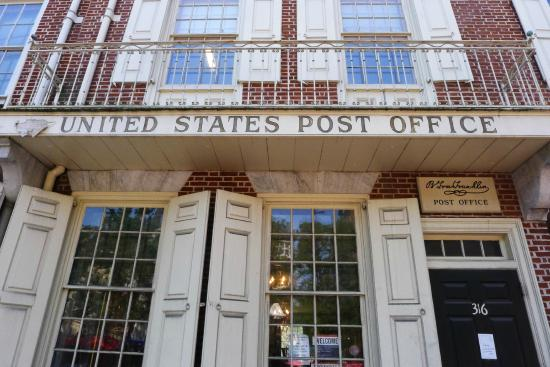 Superior Benjamin Franklin Museum: Benjamin Franklin Post Office