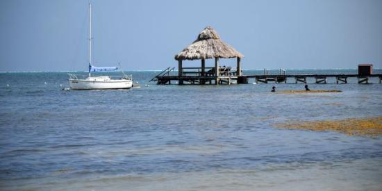 Ambergris Lake Villas: The Beach