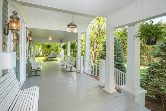 Glendale Springs, Carolina del Norte: our front porch