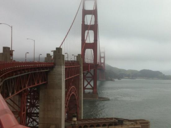 Golden Gate Bridge: Driven, pedaled and walked
