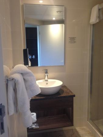 Bathroom Sinks Galway bathroom - picture of nox hotel, galway - tripadvisor