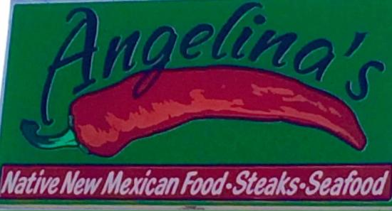 Angelina's Restaurant: Look for this sign and you will find a very memorable meal