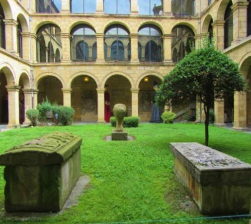 GIANT PARADE COSTUMES - Picture of Euskal Museoa Bilbao Museo Vasco, Bilbao -...