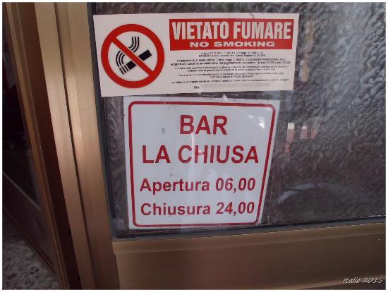 Bar Alimentari LA CHIUSA