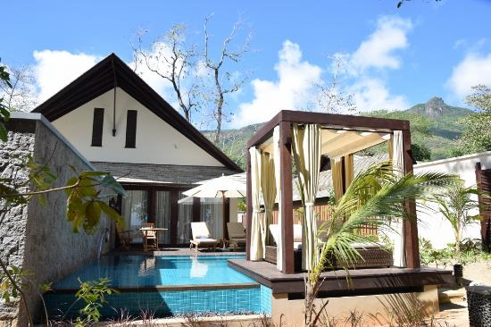 Beach Villa Picture Of The H Resort Beau Vallon