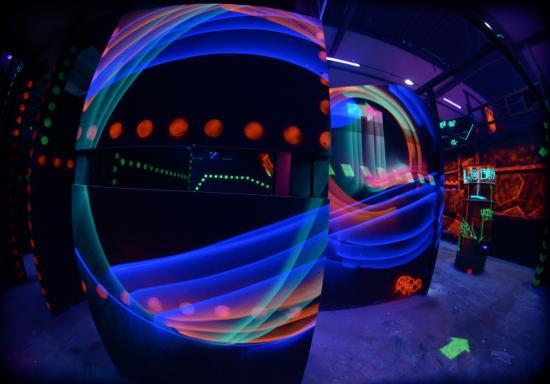 Laser Quest: labyrinthe