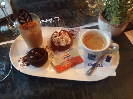 Caf gourmand obr zek za zen l 39 ardoise calais tripadvisor - Service cafe gourmand ardoise ...
