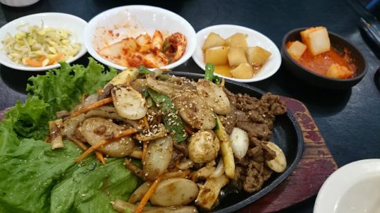 Jang Mo Jib Korean Restaurant : 料理