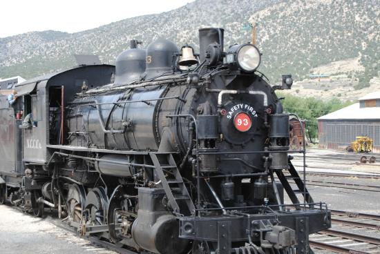 Engine 93 Picture Of Nevada Northern Railway Museum Ely Tripadvisor
