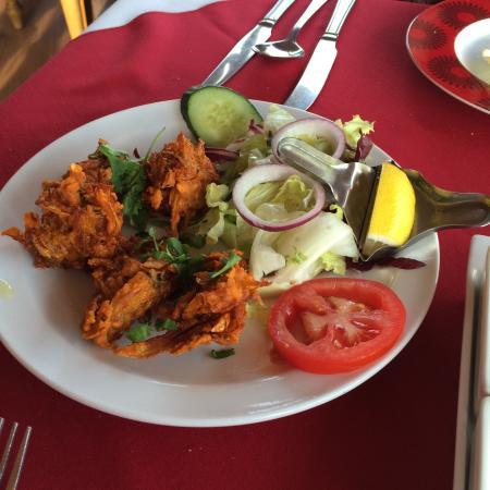 The Curry Corner: Onion Bahji's